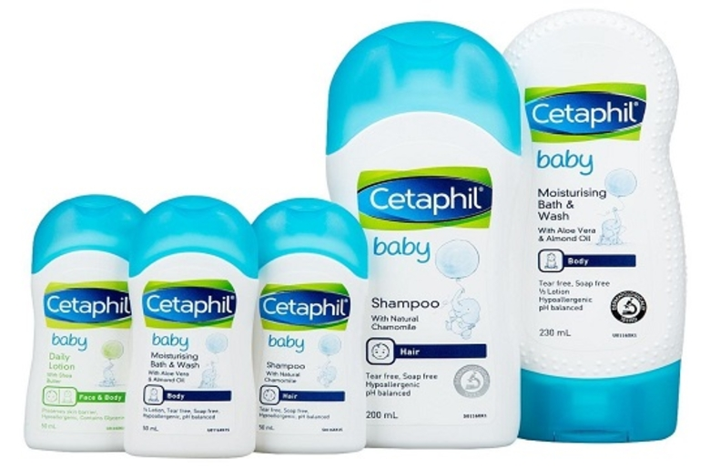 Cetaphil Baby Moist Bath & Wash 230ml